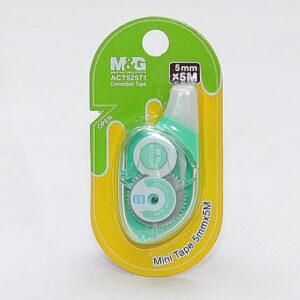 Korektor w taśmie - mini - szerokoś 5mm długość 5m M&G