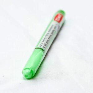 Marker do odświeżania napisów na nagrobkach - 1.5mm - ZIELONY NEON