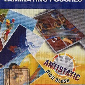 Folia do laminowania - format wizytówki 95 x 60mm - 1 arkusz