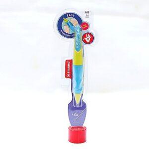 Ołówek automatyczny STABILO - dla praworęcznych. Niebieski