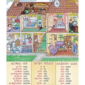 Mein Haus - Tablica edukacyjna 70x100 cm